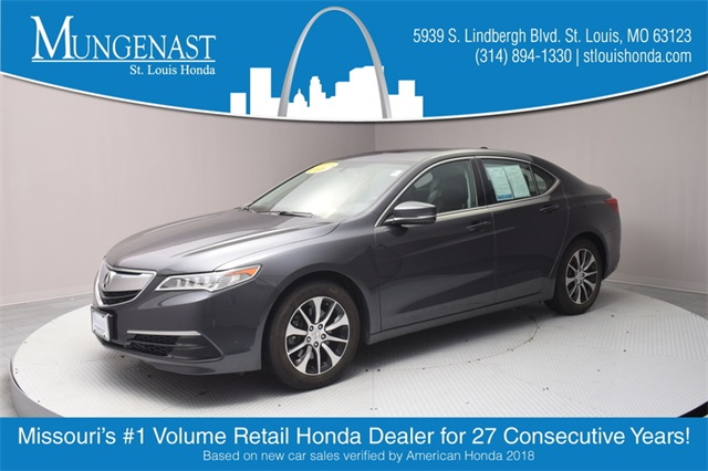 Acura Dealers St Louis >> Pre Owned 2016 Acura Tlx 2 4l Fwd 4d Sedan