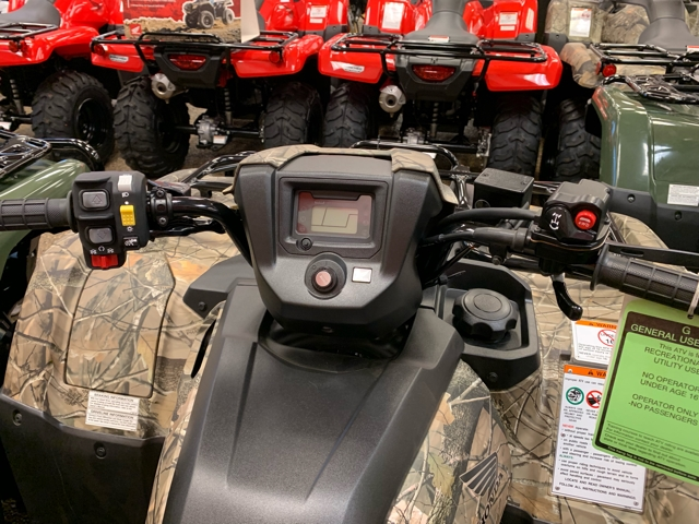 New 2019 Honda FourTrax Foreman