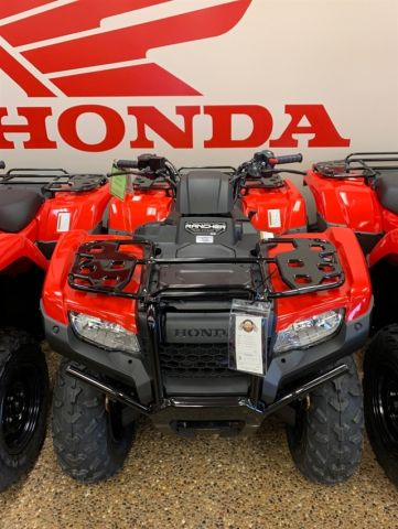 New 2020 Honda FourTrax Rancher 4X4 EPS