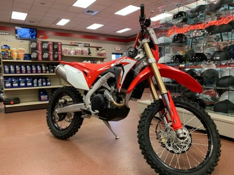 New 2019 Honda CRF 450X